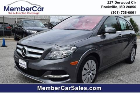 2017 Mercedes-Benz B-Class for sale at MemberCar in Rockville MD