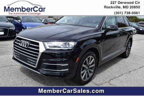 2017 Audi Q7 for sale at MemberCar in Rockville MD