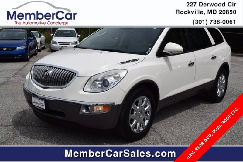 2011 Buick Enclave for sale at MemberCar in Rockville MD