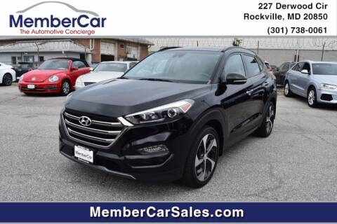 2016 Hyundai Tucson for sale at MemberCar in Rockville MD