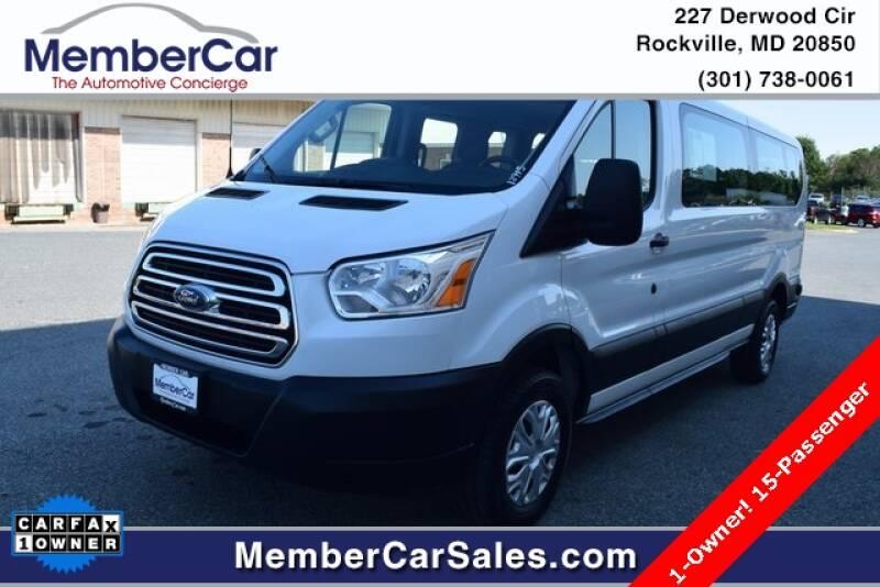 2019 Ford Transit Passenger for sale at MemberCar in Rockville MD