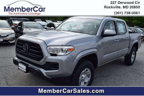 2018 Toyota Tacoma for sale at MemberCar in Rockville MD