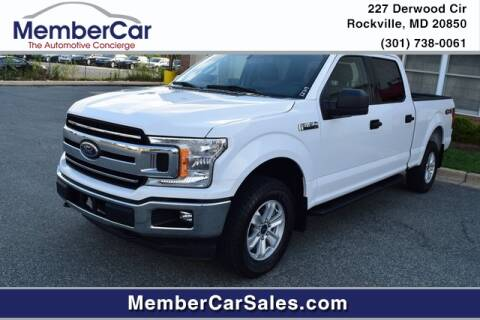 2019 Ford F-150 for sale at MemberCar in Rockville MD