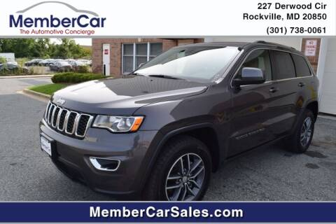 2018 Jeep Grand Cherokee for sale at MemberCar in Rockville MD