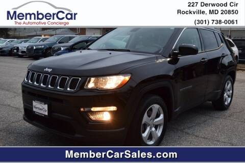 2018 Jeep Compass for sale at MemberCar in Rockville MD