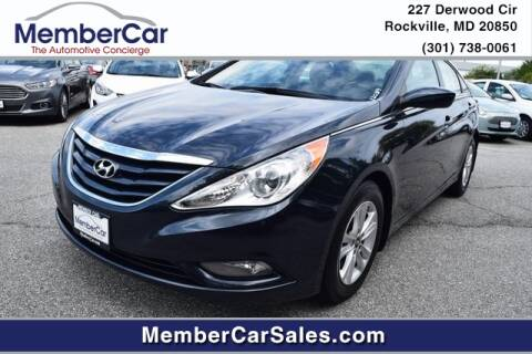 2013 Hyundai Sonata for sale at MemberCar in Rockville MD