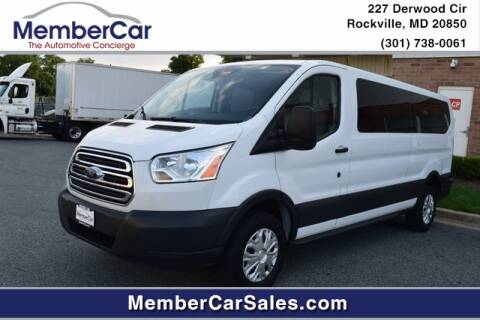 2017 Ford Transit Passenger for sale at MemberCar in Rockville MD