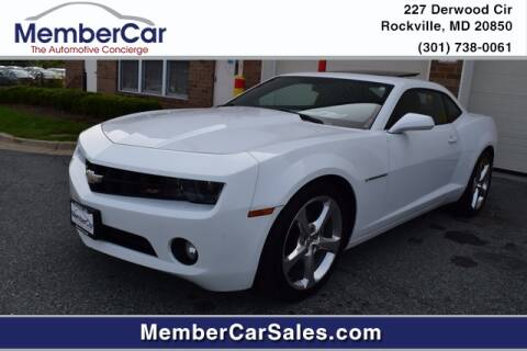 2013 Chevrolet Camaro for sale at MemberCar in Rockville MD