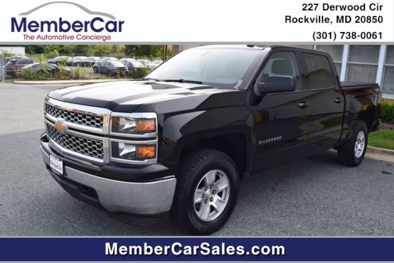 2015 Chevrolet Silverado 1500 for sale at MemberCar in Rockville MD