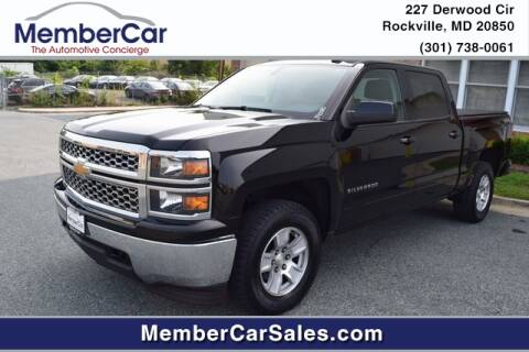 2015 Chevrolet Silverado 1500 for sale at MemberCar in Rockville MD