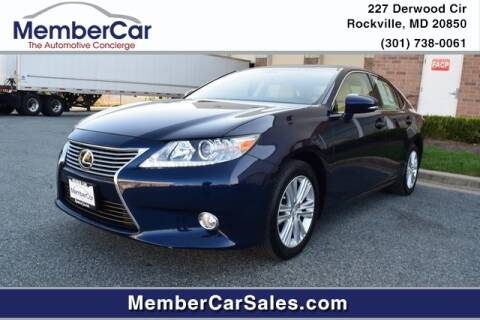 2015 Lexus ES 350 for sale at MemberCar in Rockville MD