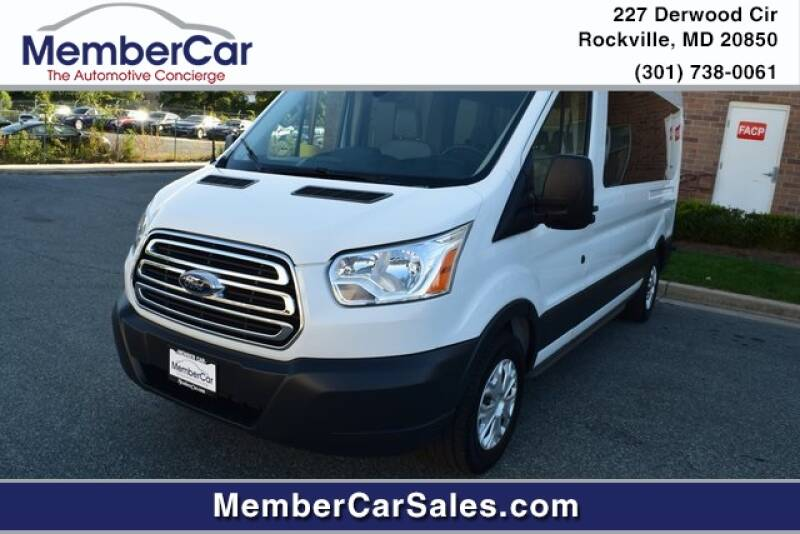 2018 Ford Transit Passenger for sale at MemberCar in Rockville MD