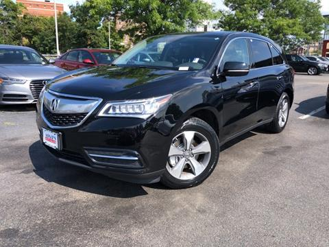 2016 Acura MDX for sale in Worcester, MA