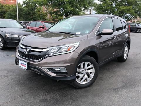 2015 Honda CR-V for sale in Worcester, MA