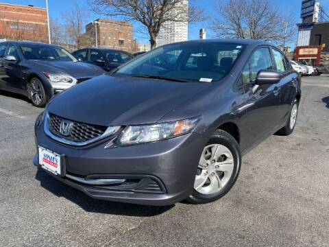 2015 Honda Civic for sale at Sonias Auto Sales in Worcester MA