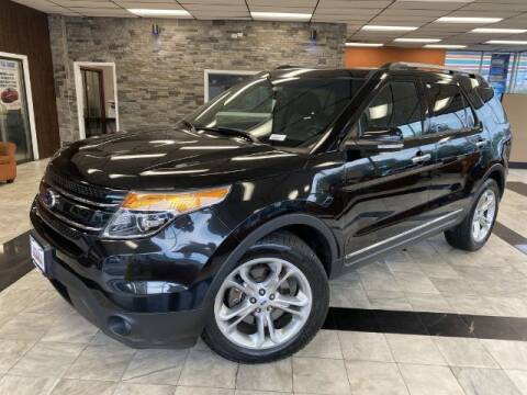 2014 Ford Explorer for sale at Sonias Auto Sales in Worcester MA