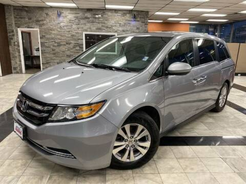 2016 Honda Odyssey for sale at Sonias Auto Sales in Worcester MA