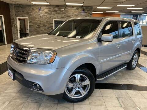 2013 Honda Pilot for sale at Sonias Auto Sales in Worcester MA