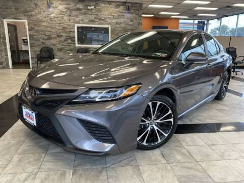 2018 Toyota Camry for sale at Sonias Auto Sales in Worcester MA