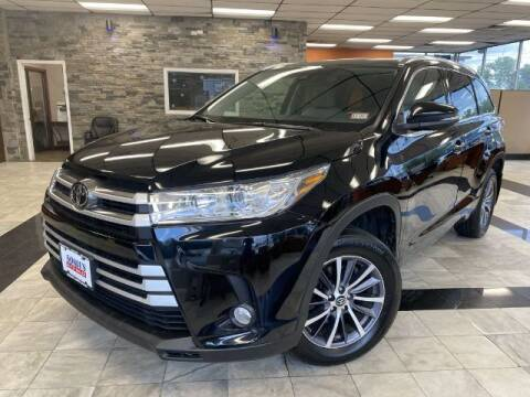 2017 Toyota Highlander for sale at Sonias Auto Sales in Worcester MA