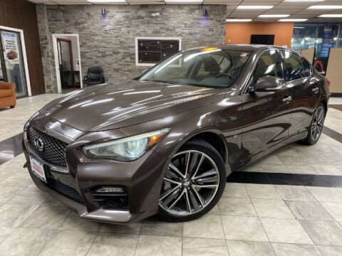 2014 Infiniti Q50 for sale at Sonias Auto Sales in Worcester MA