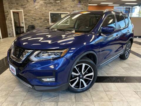 2017 Nissan Rogue for sale at Sonias Auto Sales in Worcester MA