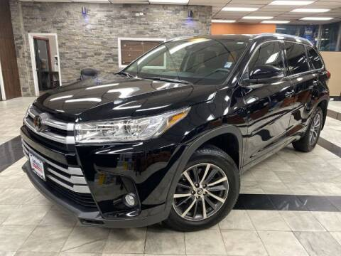 2018 Toyota Highlander for sale at Sonias Auto Sales in Worcester MA