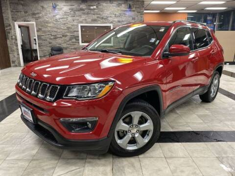 2018 Jeep Compass for sale at Sonias Auto Sales in Worcester MA