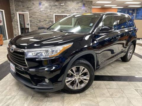 2015 Toyota Highlander for sale at Sonias Auto Sales in Worcester MA