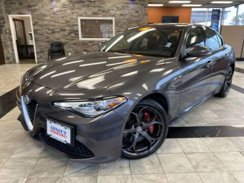 2017 Alfa Romeo Giulia for sale at Sonias Auto Sales in Worcester MA