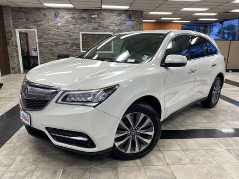 2015 Acura MDX for sale at Sonias Auto Sales in Worcester MA