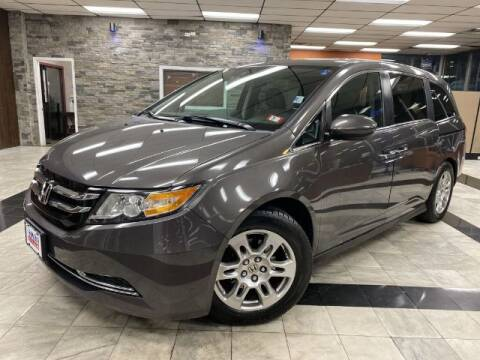 2015 Honda Odyssey for sale at Sonias Auto Sales in Worcester MA