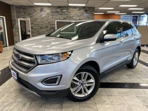 2016 Ford Edge for sale at Sonias Auto Sales in Worcester MA