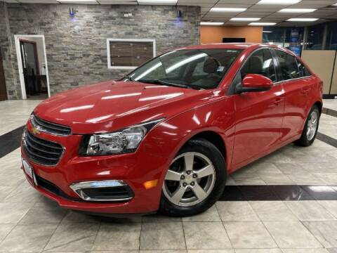2015 Chevrolet Cruze for sale at Sonias Auto Sales in Worcester MA