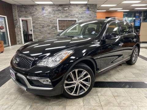 2017 Infiniti QX50 for sale at Sonias Auto Sales in Worcester MA