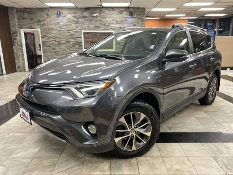 2017 Toyota RAV4 Hybrid for sale at Sonias Auto Sales in Worcester MA