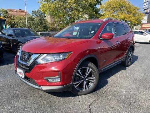 2017 Nissan Rogue Hybrid for sale at Sonias Auto Sales in Worcester MA