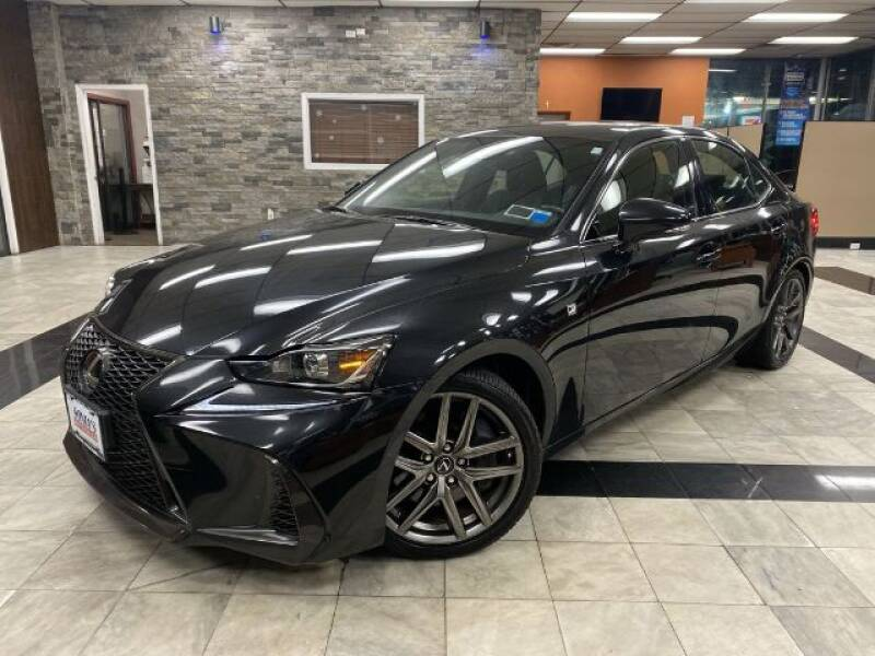 2017 Lexus IS 350 for sale at Sonias Auto Sales in Worcester MA