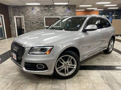 2014 Audi Q5 for sale at Sonias Auto Sales in Worcester MA