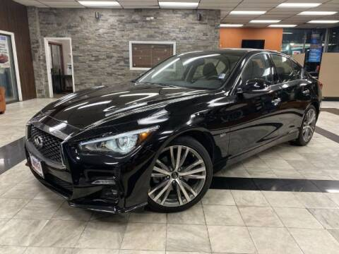 2019 Infiniti Q50 for sale at Sonias Auto Sales in Worcester MA