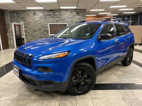 2017 Jeep Cherokee for sale at Sonias Auto Sales in Worcester MA