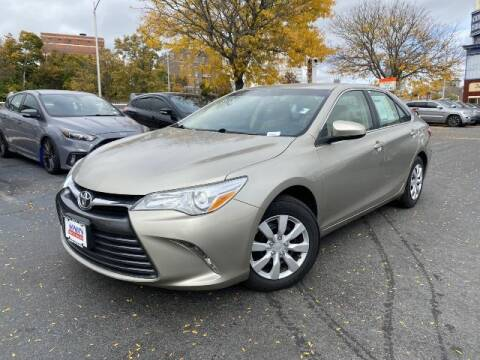 2017 Toyota Camry for sale at Sonias Auto Sales in Worcester MA