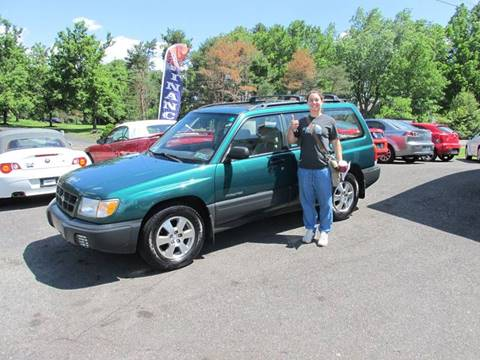 2000 Subaru Forester for sale at GEG Automotive in Gilbertsville PA