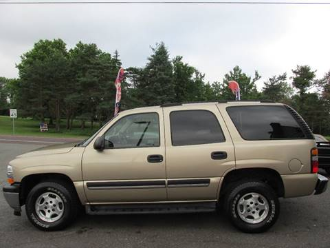 2005 Chevrolet Tahoe for sale at GEG Automotive in Gilbertsville PA