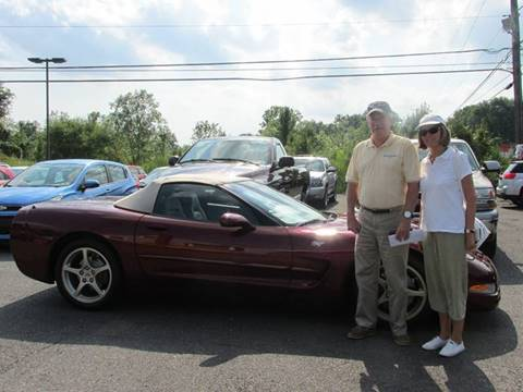 2003 Chevrolet Corvette for sale at GEG Automotive in Gilbertsville PA