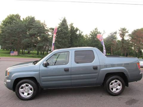 2007 Honda Ridgeline for sale at GEG Automotive in Gilbertsville PA