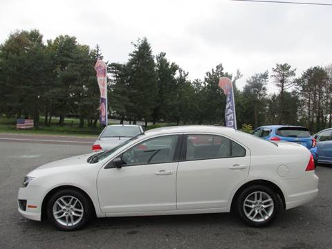 2010 Ford Fusion for sale at GEG Automotive in Gilbertsville PA