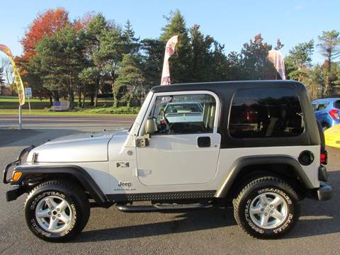 2006 Jeep Wrangler for sale at GEG Automotive in Gilbertsville PA