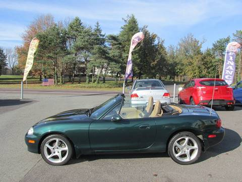 2002 Mazda MX-5 Miata for sale at GEG Automotive in Gilbertsville PA