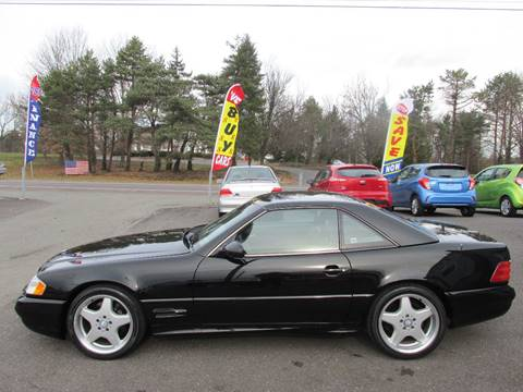 1999 Mercedes-Benz SL-Class for sale at GEG Automotive in Gilbertsville PA